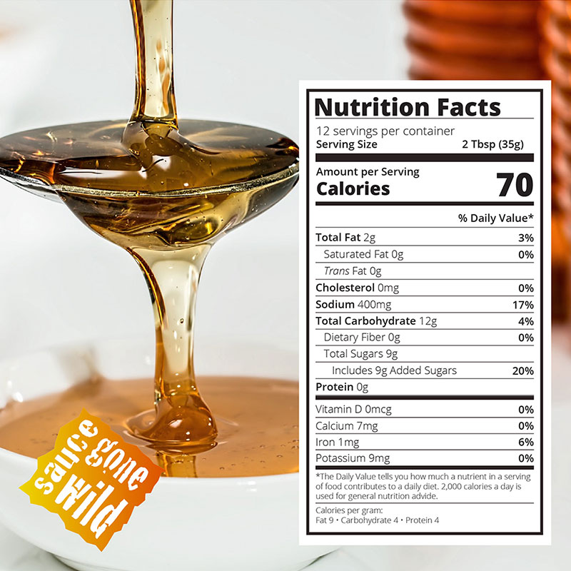 Nutritional Info for Hickory Honey Gold